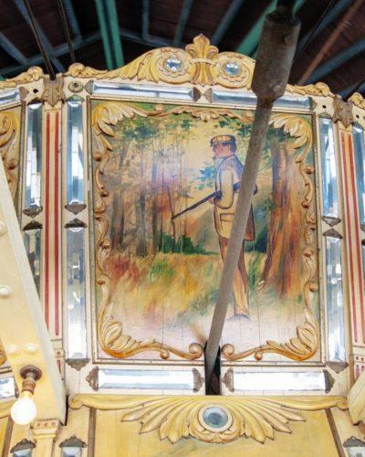 Carousel Art at Balboa Park merry go round