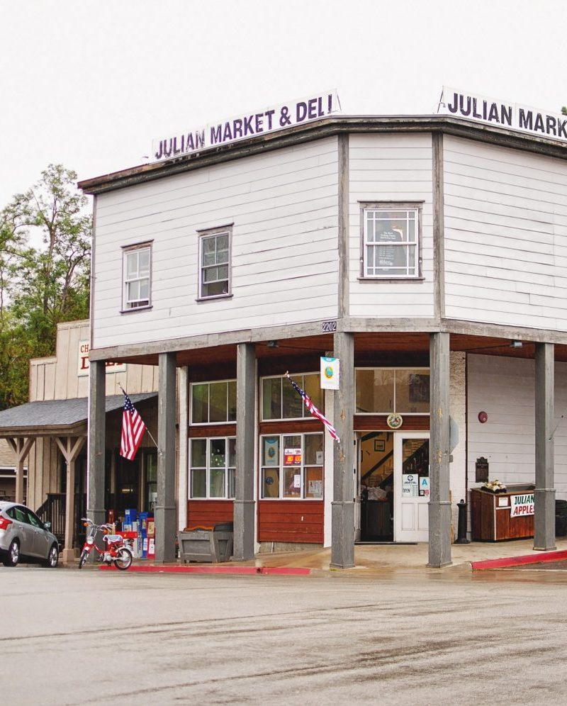 photo of the Julian Market and Deli, Julian, CA