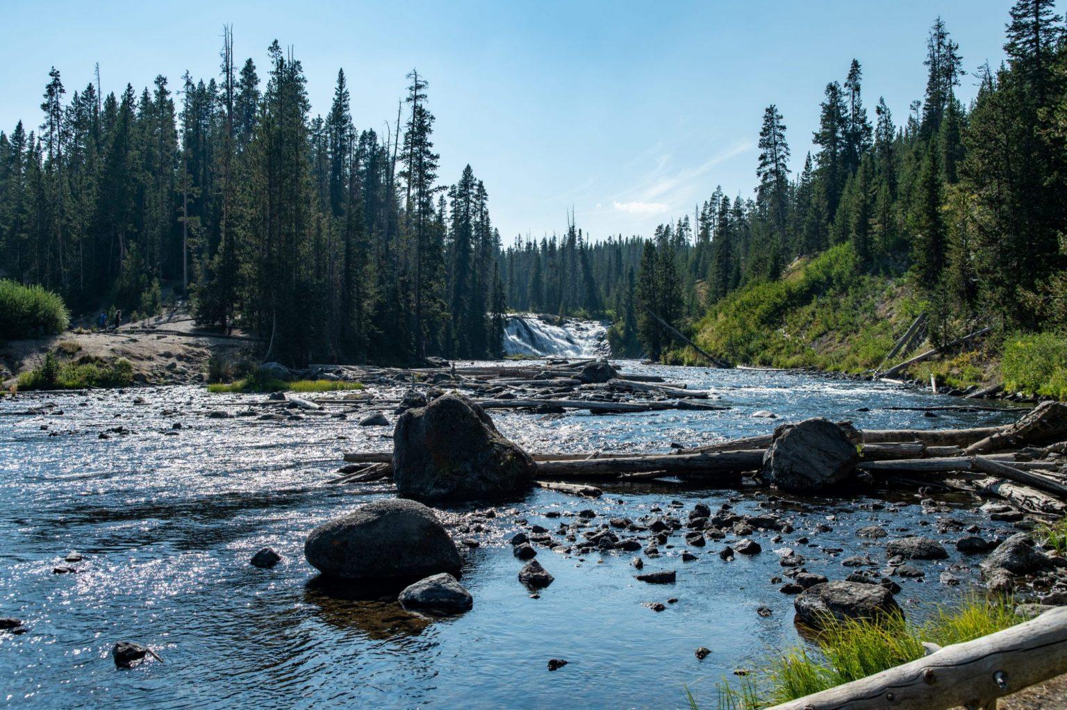 waterfall photo lewis falls yellowstone amsw photography